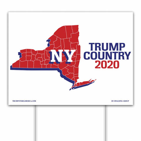 New York is Trump Country 2020 – Yard/Rally Sign