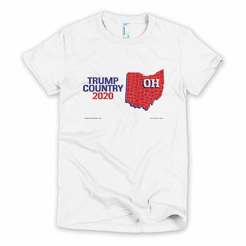 Ohio is Trump Country Women's Slim Fit T-shirt