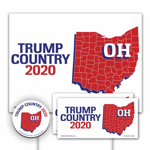 Ohio is Trump Country Yard Sign Kit