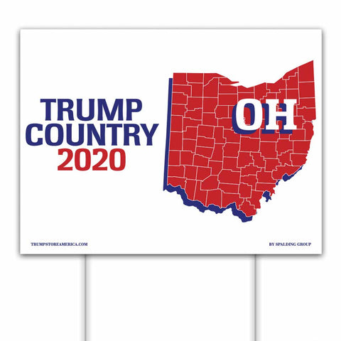 Ohio is Trump Country 2020 – Yard/Rally Sign