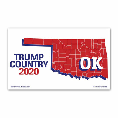 Oklahoma is Trump Country 2020 - Vinyl 5' x 3' Banner