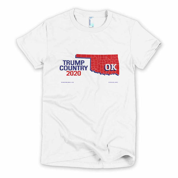 Oklahoma is Trump Country Women's Slim Fit T-shirt