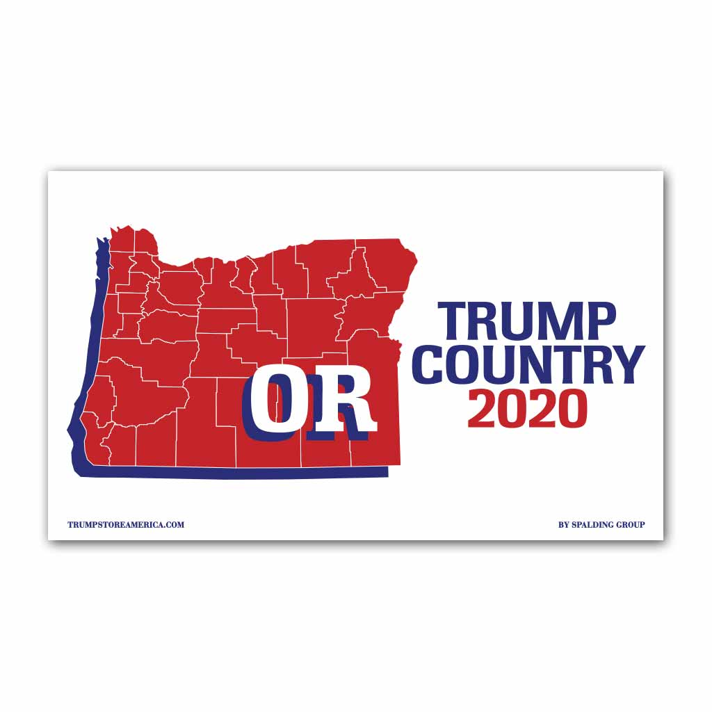 Oregon is Trump Country 2020 - Vinyl 5' x 3' Banner