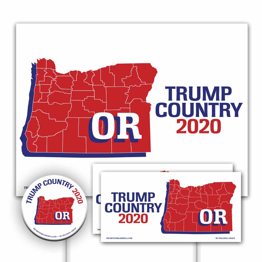 Oregon is Trump Country Yard Sign Kit