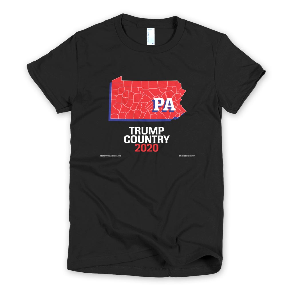 Pennsylvania is Trump Country Women's Slim Fit T-shirt