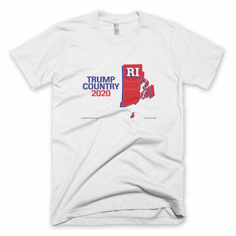 Rhode Island is Trump Country T-shirt