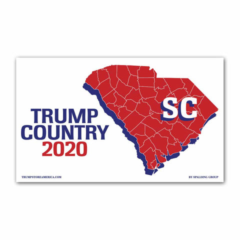 South Carolina is Trump Country 2020 - Vinyl 5' x 3' Banner