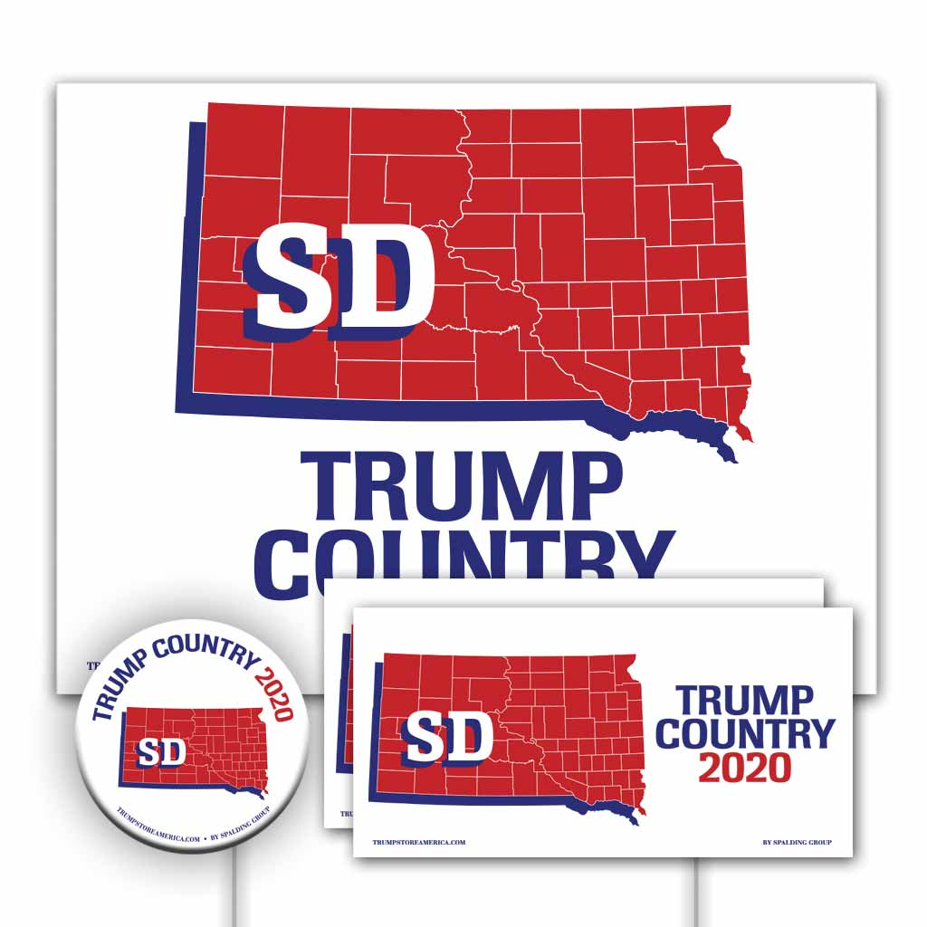 South Dakota is Trump Country Yard Sign Kit