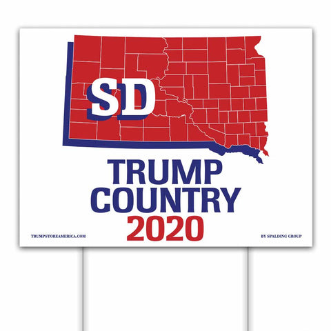 South Dakota is Trump Country 2020 – Yard/Rally Sign