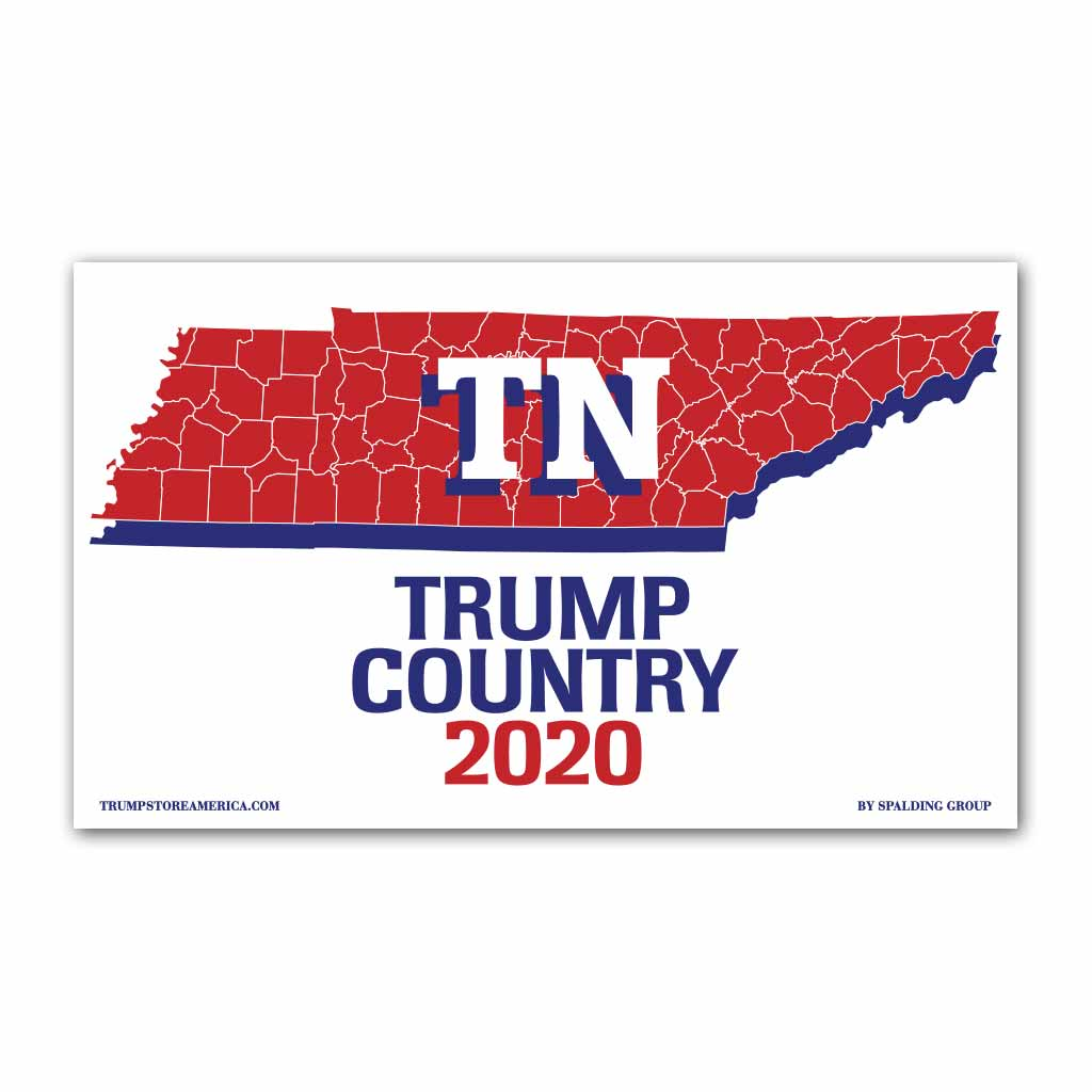 Tennessee is Trump Country 2020 - Vinyl 5' x 3' Banner