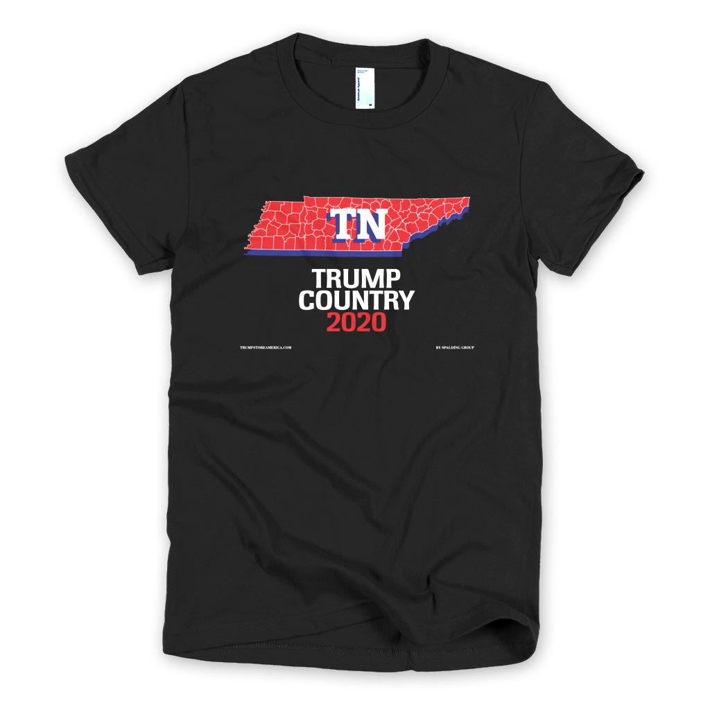 Tennessee is Trump Country Women's Slim Fit T-shirt