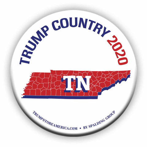 "Tennessee is Trump Country 2020 – 3"" Round Button"