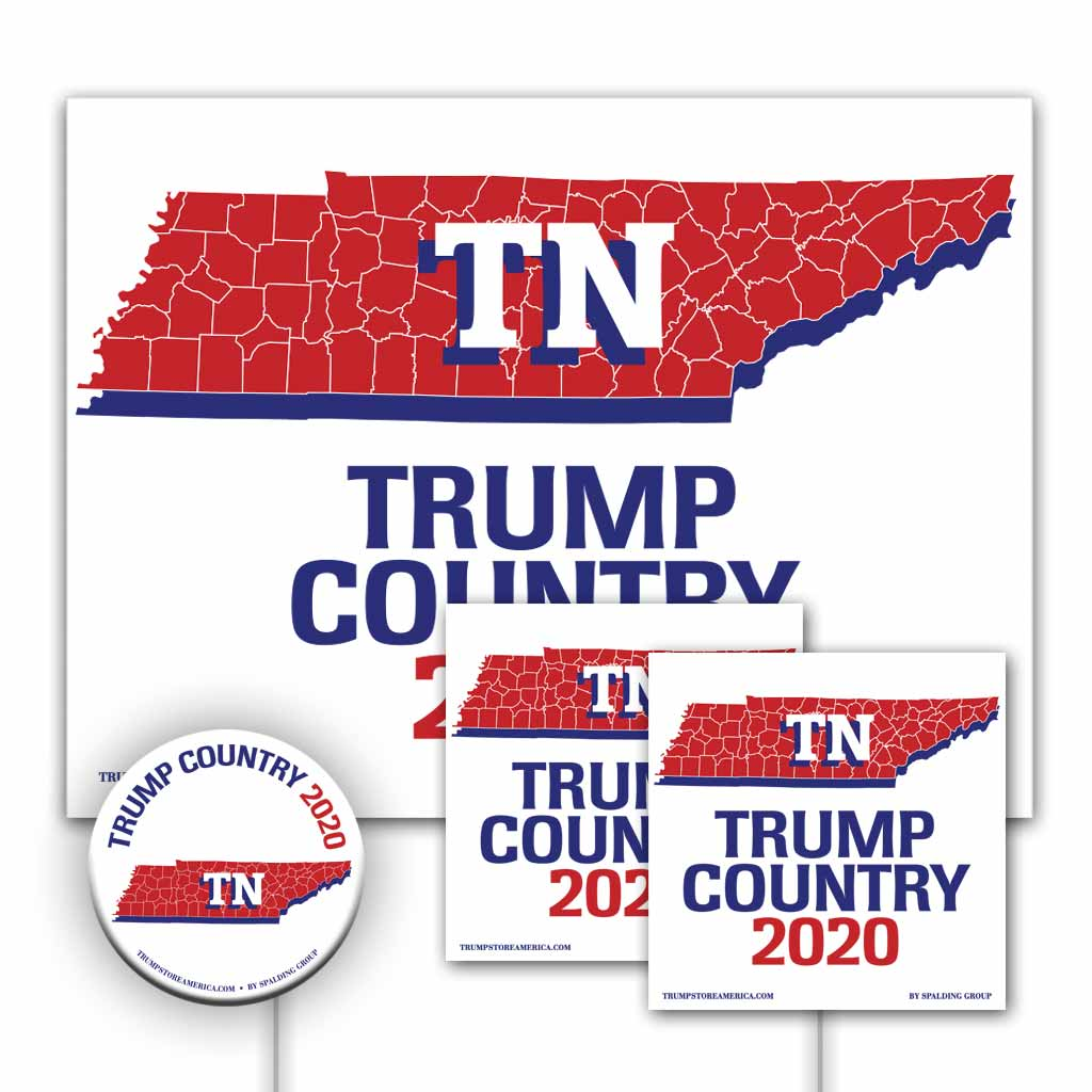 Tennessee is Trump Country Yard Sign Kit