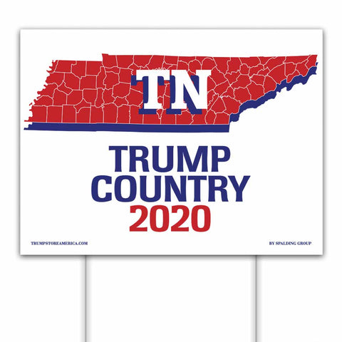 Tennessee is Trump Country 2020 – Yard/Rally Sign