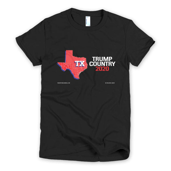 Texas is Trump Country Women's Slim Fit T-shirt