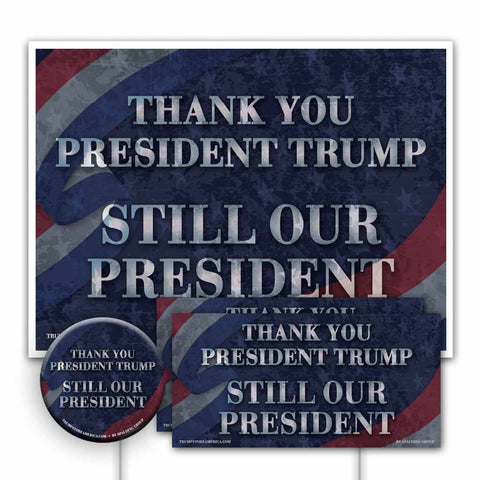 Trump 2020 Yard Sign Kit - Thank You