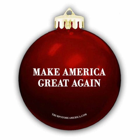 Trump MAGA Ornament