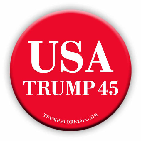 USA Trump 45 Button