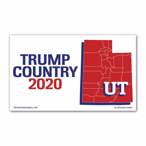 Utah is Trump Country 2020 - Vinyl 5' x 3' Banner