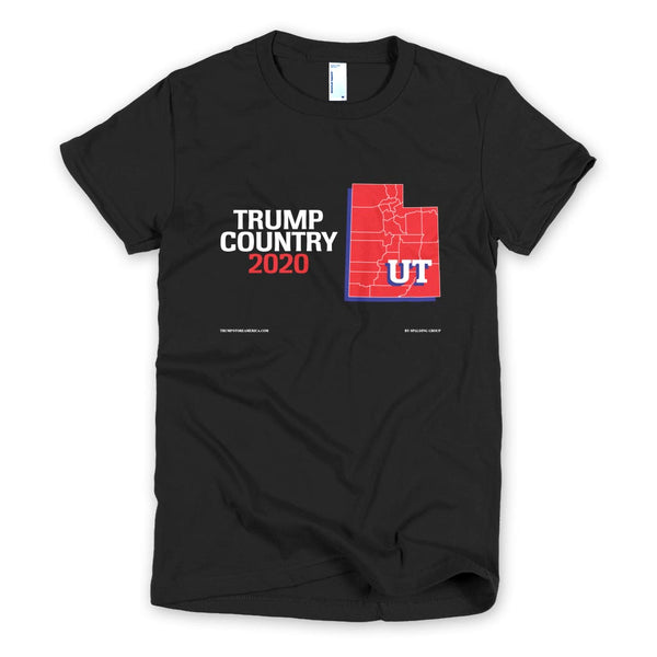 Utah is Trump Country Women's Slim Fit T-shirt