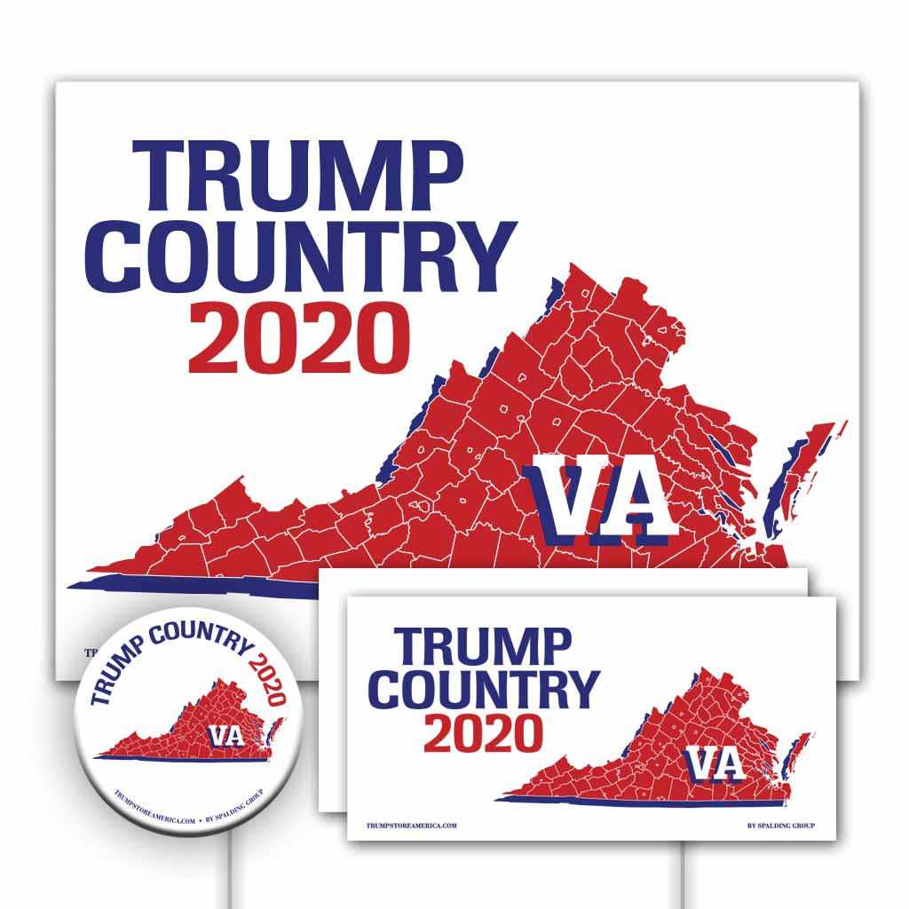 Virginia is Trump Country Yard Sign Kit
