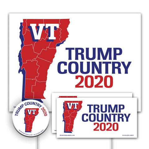 Vermont is Trump Country Yard Sign Kit