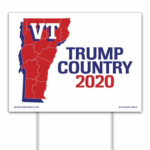 Vermont is Trump Country 2020 – Yard/Rally Sign