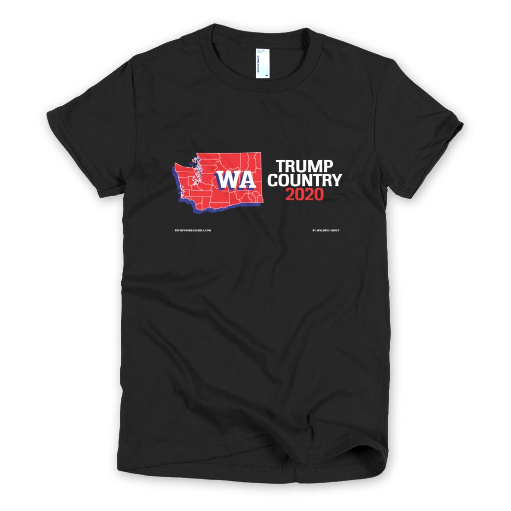 Washington is Trump Country Women's Slim Fit T-shirt