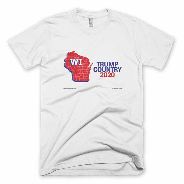 Wisconsin is Trump Country T-shirt