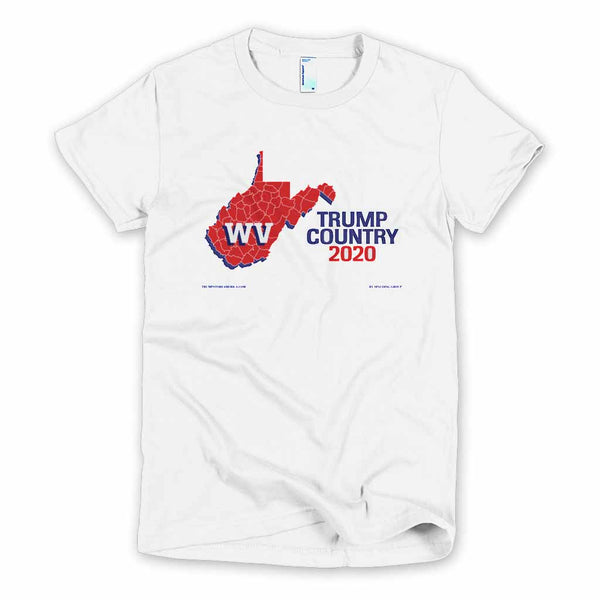 West Virginia is Trump Country Women's Slim Fit T-shirt