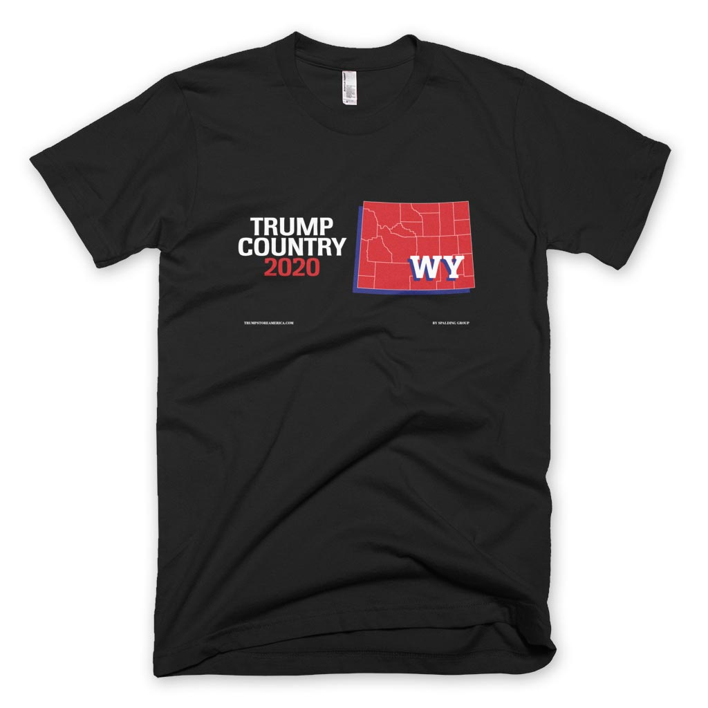 Wyoming is Trump Country T-shirt