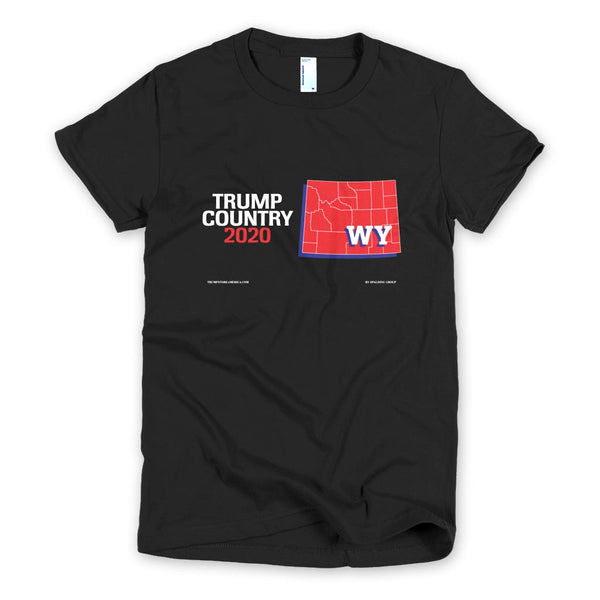 Wyoming is Trump Country Women's Slim Fit T-shirt