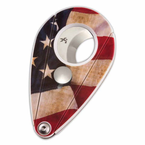 Amercian Flag Xi2 Composite Cigar Cutter