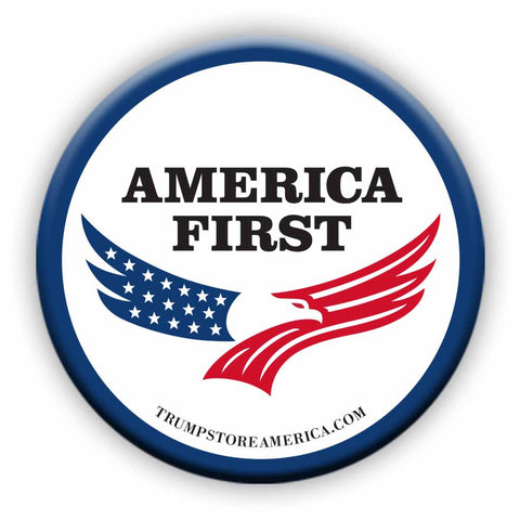 America First Button