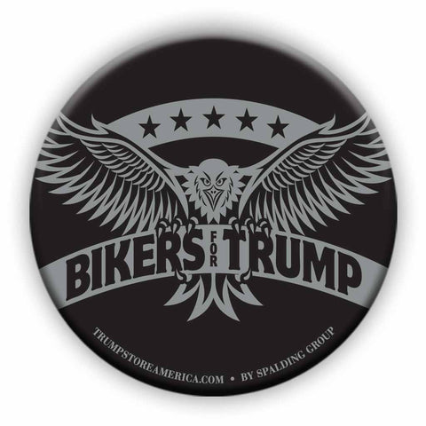 Trump Button - Bikers for Trump