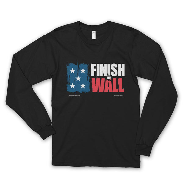Finish The Wall Long Sleeve T-shirt