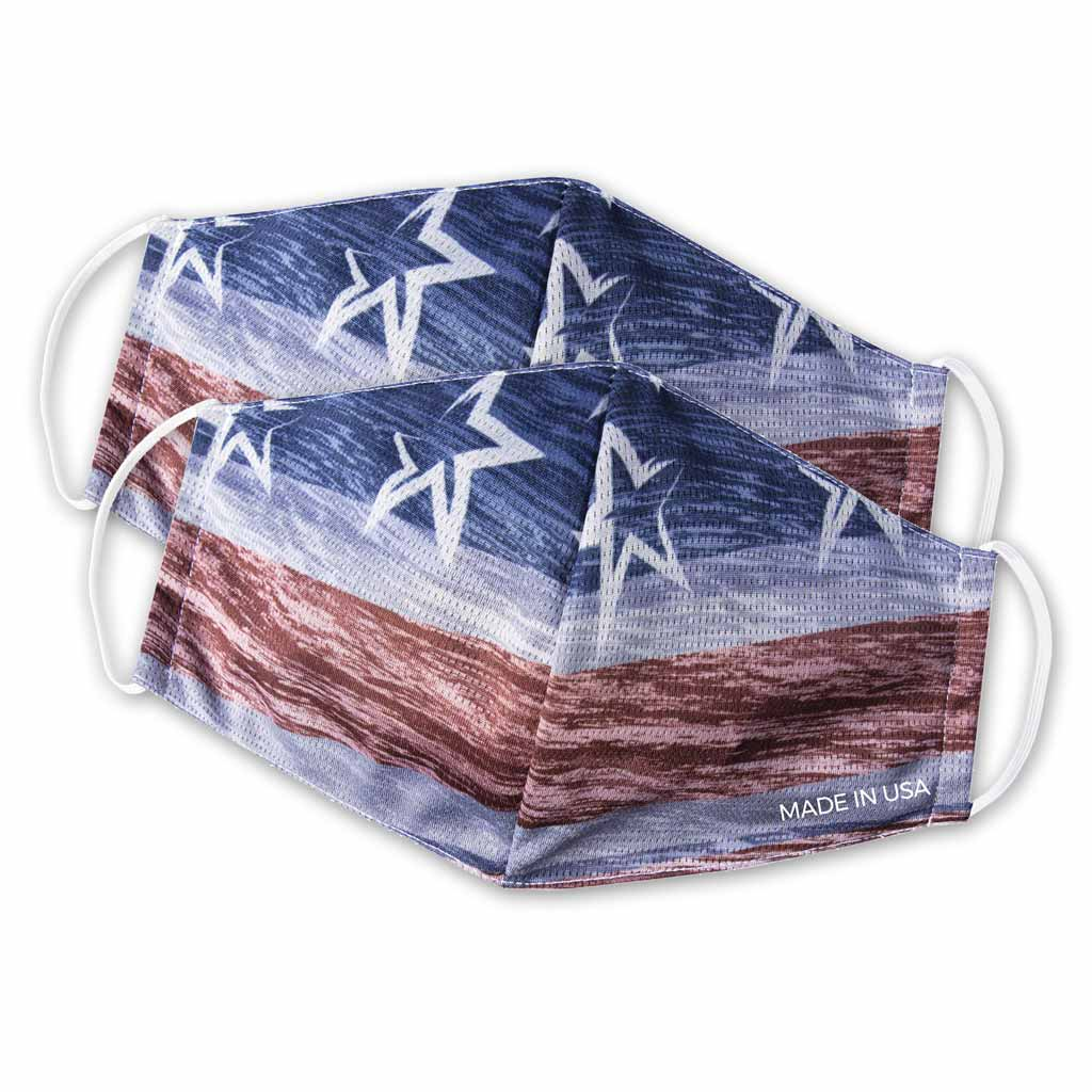 Patriotic Face Mask - 2 Pack