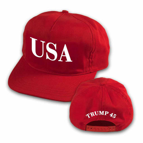 USA Trump 45 Red Hat