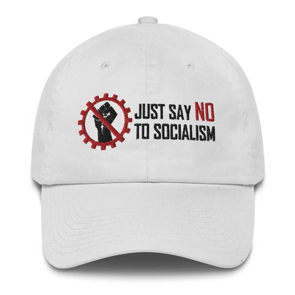 Say No To Socialism hat