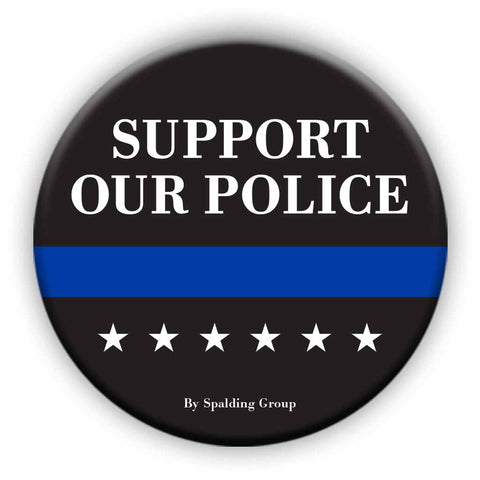 Support Our Police Button