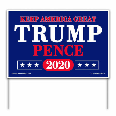 Trump 2020 Yard Sign