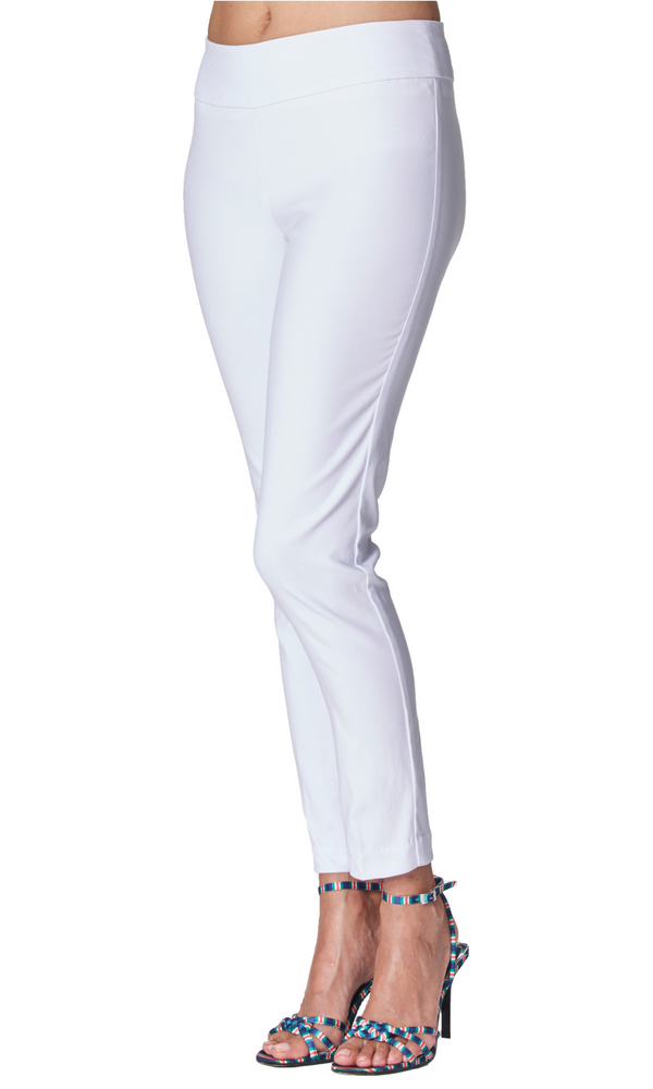 White - 4321 - Pull-On Pant
