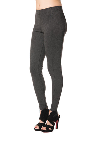 Legging - 4117 - Solid Grey