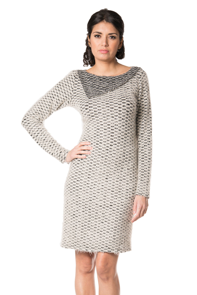 Devon - 8782 - Soft And Comfy Long Sleeves Dress