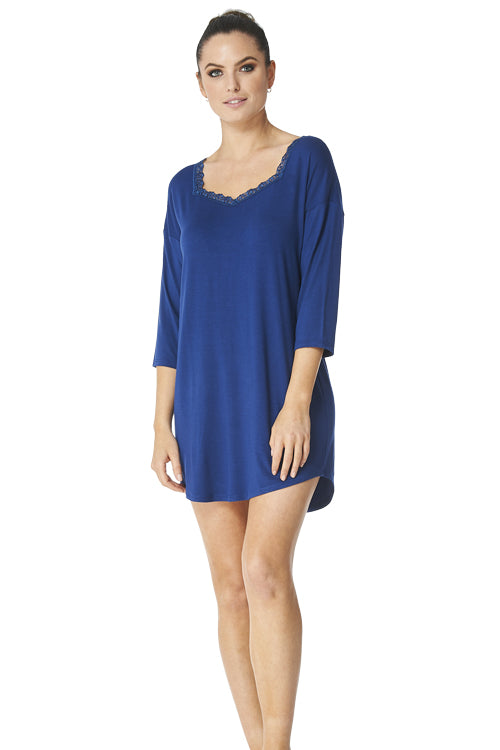 Gwen - 9017 - Sleeve NightShirt