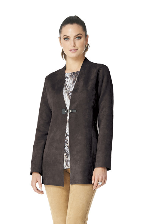 Arizona - 9303 - Bonded Faux Suede Jacket