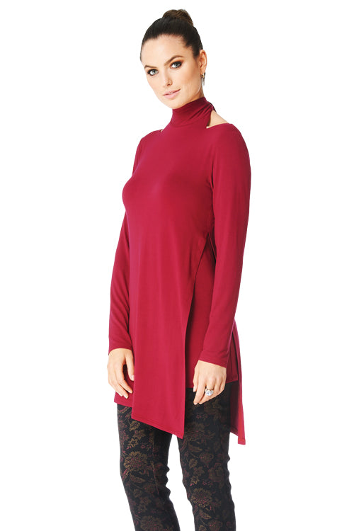 Candace - 9638 - Long Sleeve Reversible Tunic