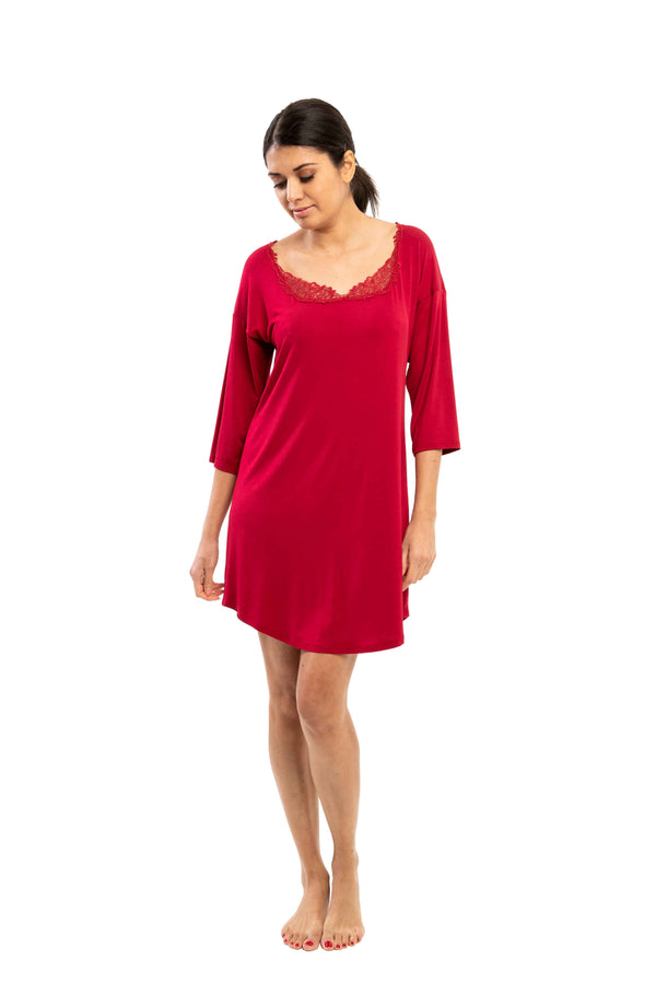 Gwen - 8015 - Sleeve NightShirt