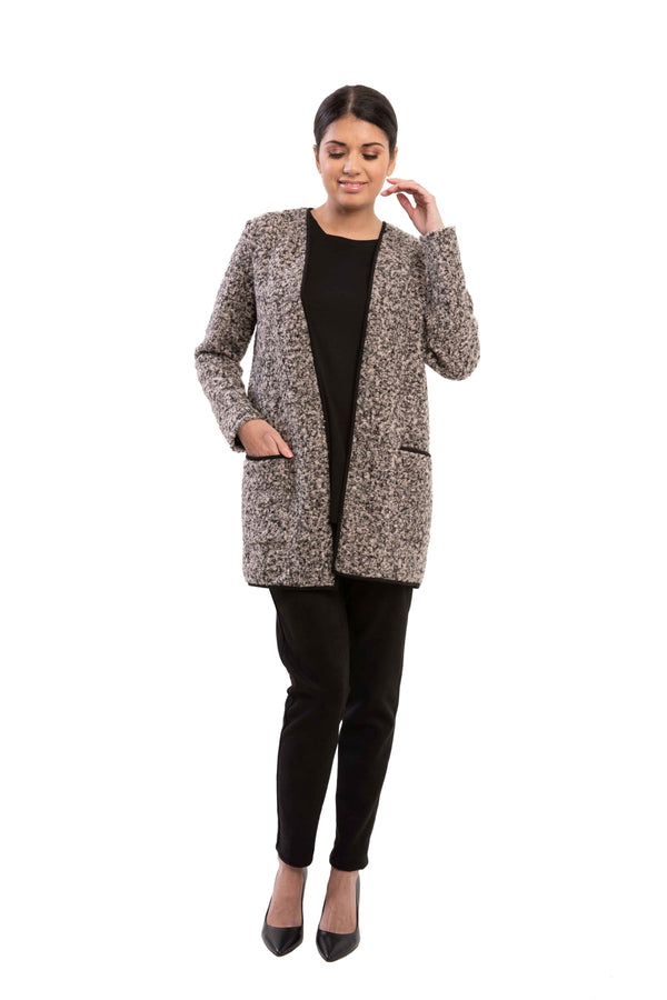 Lene - 7784 - Cardigan with Patch Pockets