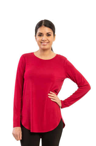 Lilianne - 7453 - Long Sleeves Top